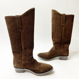 Old Gringo Razz Boots Chocolate Brown Suede